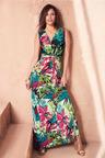 Kaleidoscope Printed Dress