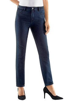 Euro Edit Side Trim Denim Pant - 195814