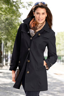 Euro Edit Showerproof Trench Coat - 195822