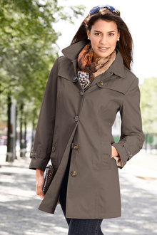 Euro Edit Showerproof Trench Coat