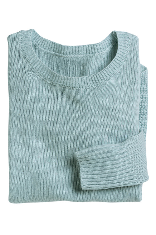 Capture Hem Detail Knit Sweater