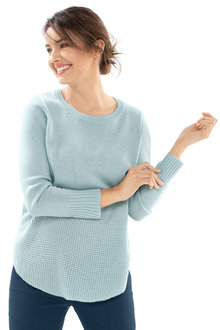 Capture Hem Detail Knit Sweater