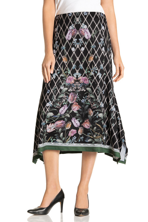 Capture Drape Skirt