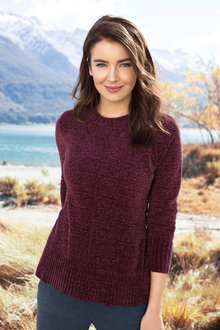 Capture Chenille Slouchy Jumper - 195839