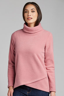 Capture Over Roll Neck Fleece
