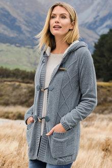 Capture Sherpa Trim Cardigan