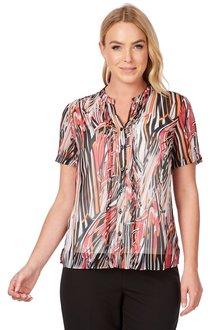 Noni B Winnie Printed Shirt