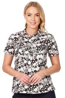 Noni B Verona Printed Shirt