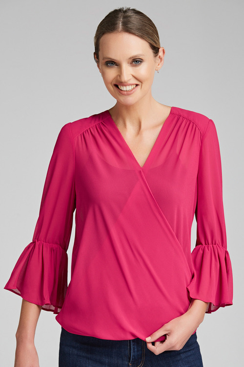 Capture Wrap Front Top