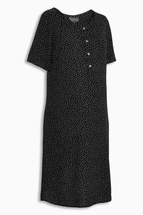Next Nursing Button Dress