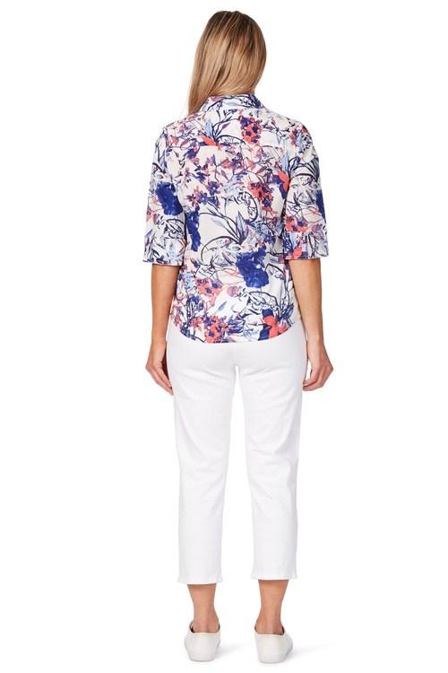 Noni B Bianca Printed Shirt