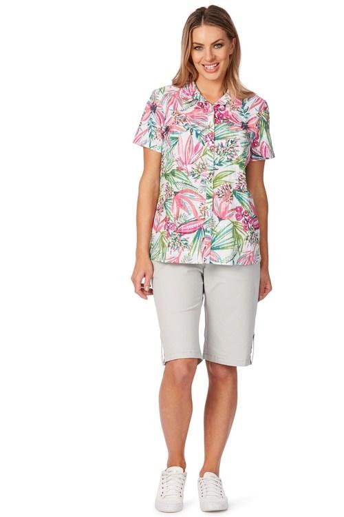 Noni B Dillion Printed Shirt