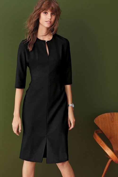 Next Signature Textured Suit Dress