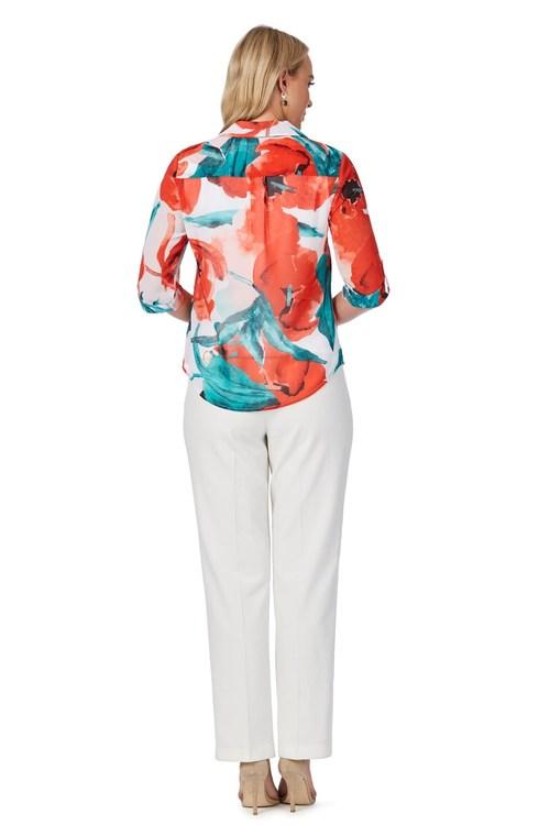 Noni B Colette Printed Shirt