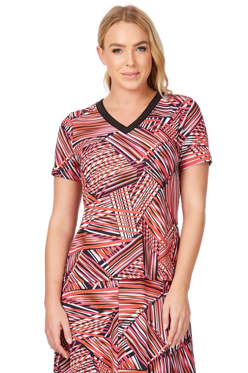 Noni B Ivani Printed Top