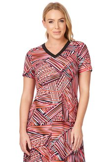 Noni B Ivani Printed Top - 195954