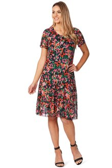 Noni B Ally Printed Dress