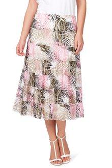 Noni B Gilma Printed Skirt
