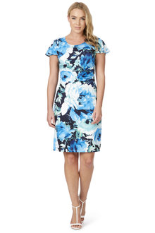 Noni B Rosanna Printed Dress