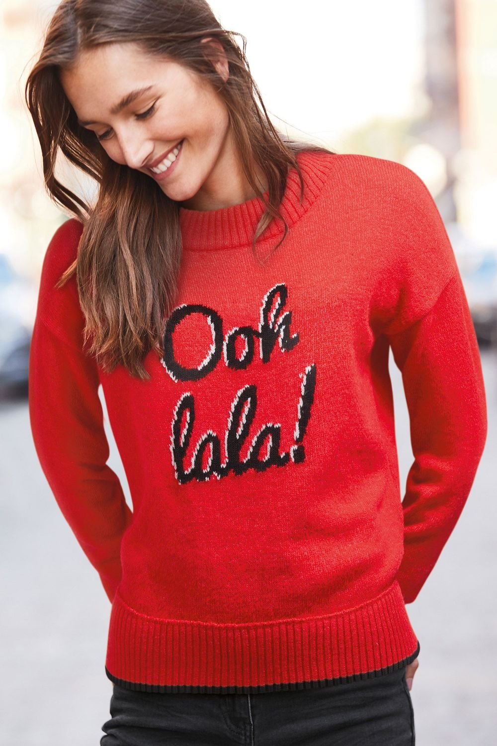 Next ooh la la slogan sweater online shop ezibuy next ooh la la slogan sweater publicscrutiny