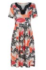 Noni B Shannon Printed Dress