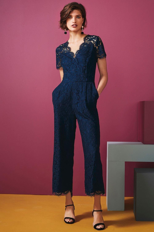 57753d96071a Next Lace Culotte Jumpsuit - Petite Online