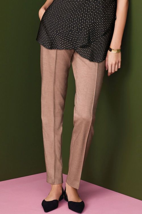Next Compact Slim Trousers - Petite