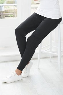Next Maternity Over The Bump Jersey Jogger Trousers