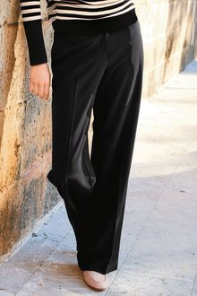 Next Soft Wide Leg Trousers - Tall
