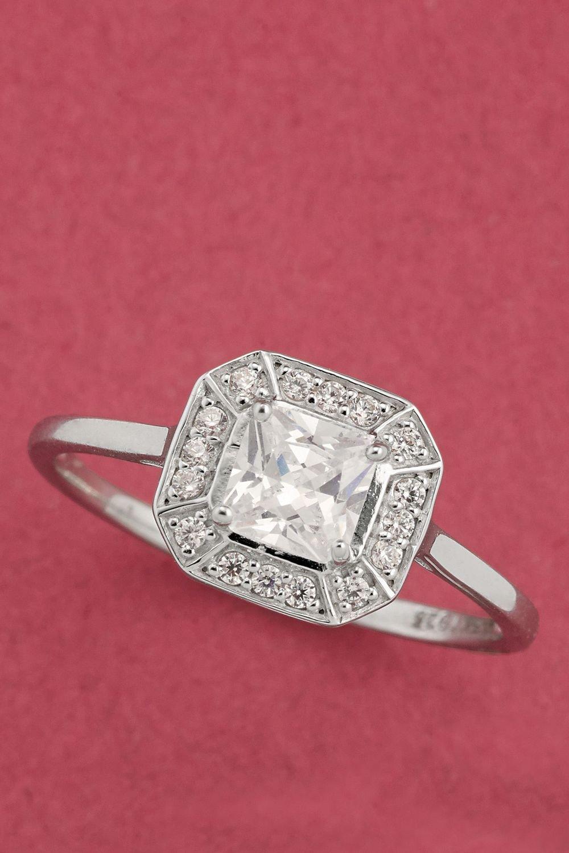 Next Square Stone Ring Online | Shop EziBuy
