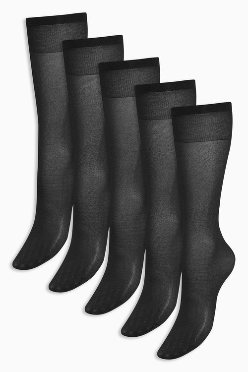 Next Knee High Socks Five Pack