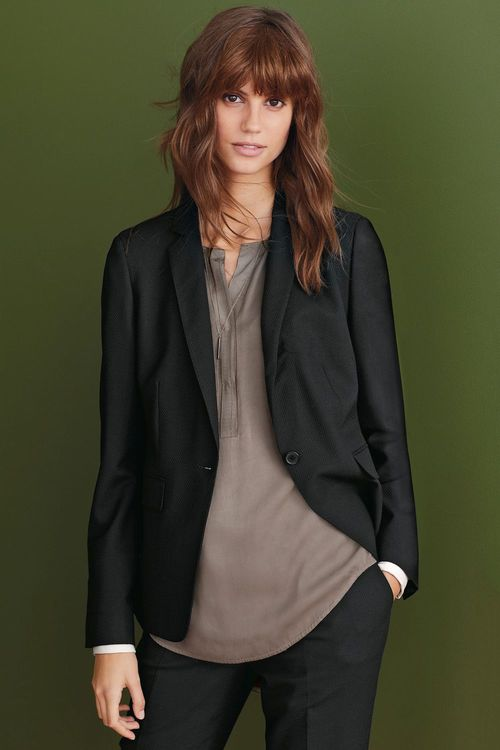 Next Signature Textured Suit Jacket