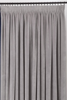 Velvet Pencil Pleat Curtain Pairs