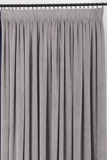 Velvet Pencil Pleat Curtain Pairs
