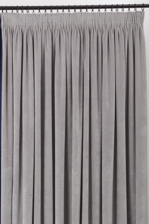 Velvet Pencil Pleat Curtain Pairs Online | Shop EziBuy Home