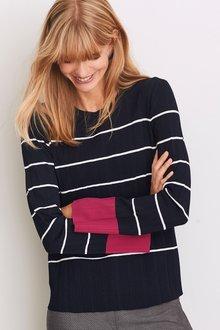 Next Pleated Sweater