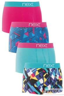 Next Geometric Hipsters Four Pack