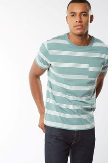 Next Green Stripe T-Shirt
