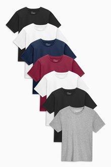 Next Colour T-Shirts Seven Pack