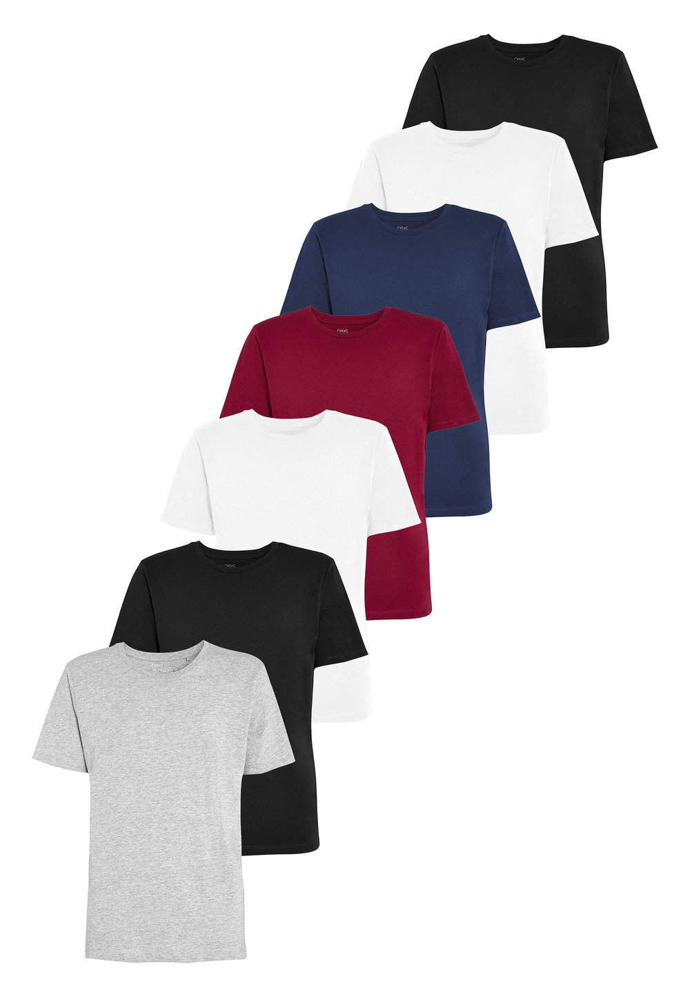 3b52cf270 Next Colour T-Shirts Seven Pack Online | Shop EziBuy