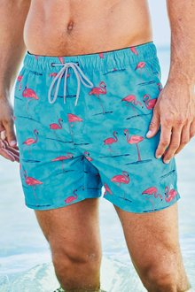 Next Flamingo Swim Shorts