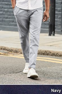 Next Laundered Chinos - Slim Tapered Fit