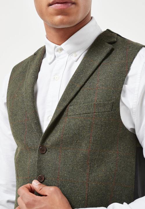 Next Wool Blend Waistcoat
