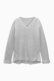 Next Knitted Jumper With Lace