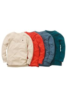 Next Long Sleeve T-Shirts Four Pack (3-16yrs)