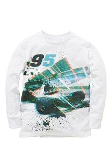 Next Cosy F1 Splat Long Sleeve T-Shirt (3-16yrs)