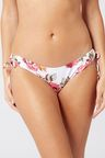 Next White Floral High Leg Bikini Briefs