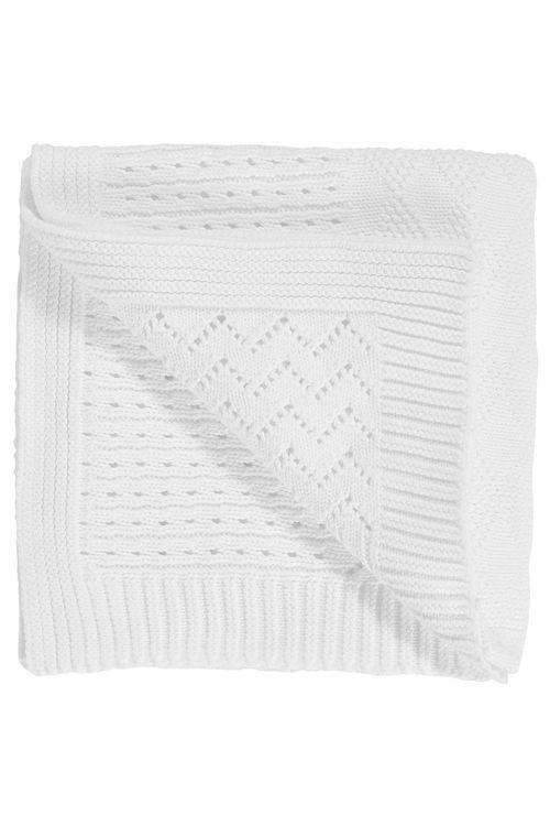 Next Knitted Blanket (Newborn)
