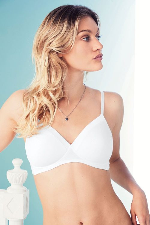 Next Daisy Lightly Padded Non Wire Full Cup Bras Two Pack