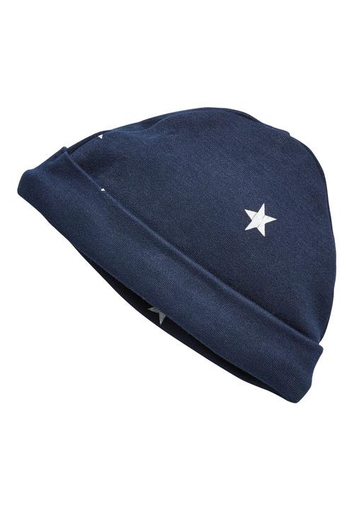 Next Stripe/Star Print Beanie Hats Two Pack (0-18mths)